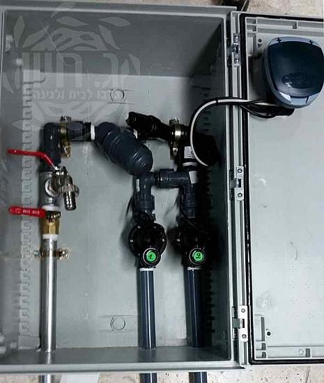 מודיעין מערכת השקיה לגינה - ארון דו-קווי AC | ג.חיון IV-63
